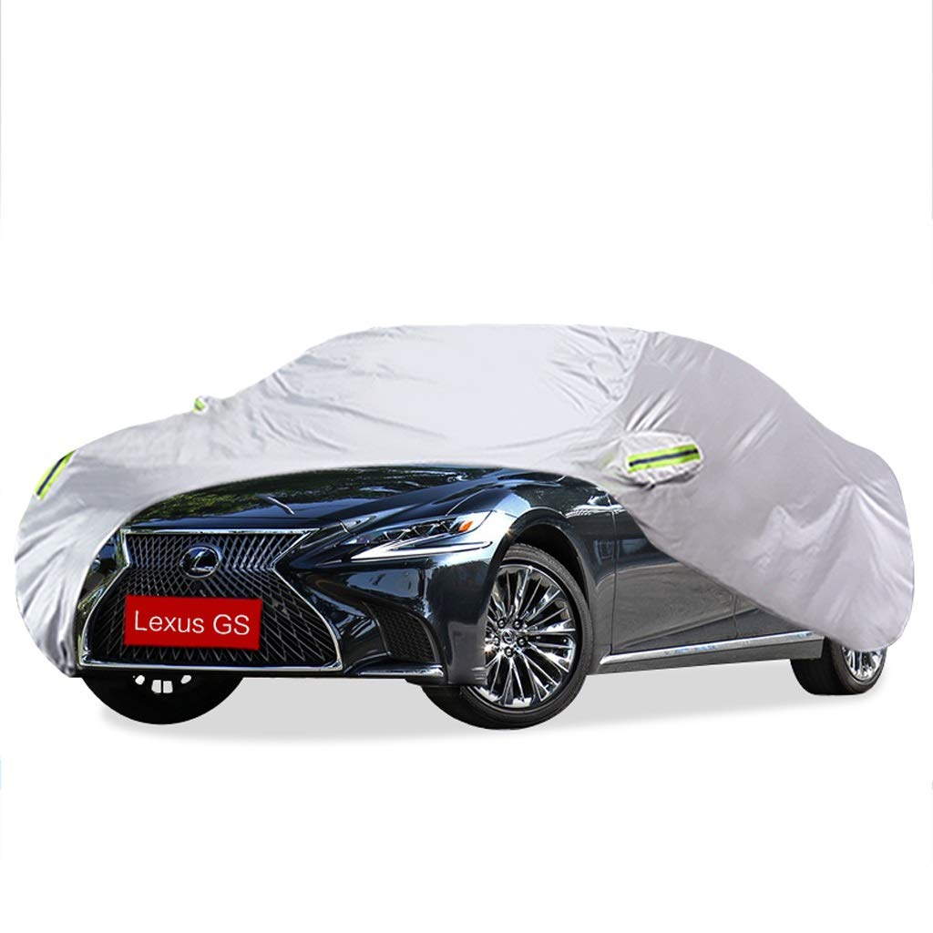 SXET-Car cover Car Cover Windshield Cover Dust Cover Lexus GS Series Special Car Cover Waterproof Sunscreen Scratch (Size : GS350)