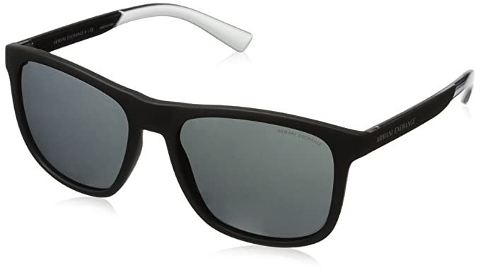 e9c78324fa63 Amazon.com  Armani Exchange Men s Injected Man Sunglass Square ...