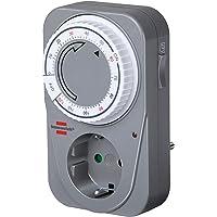 Brennenstuhl Countdown Timer MC 120, mechanische timer stopcontact (timer voor stopcontact met countdown functie en…