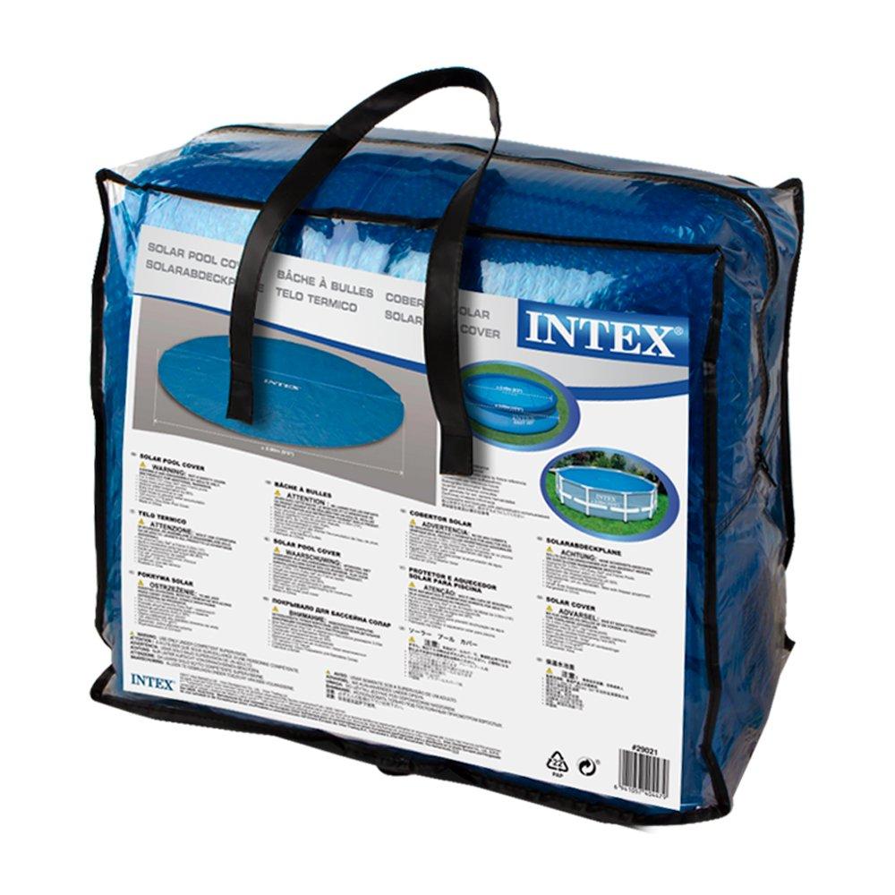 Intex 29021 - Cobertor solar para piscinas 305 cm de diámetro: Amazon.es: Jardín