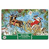 Michel Design Works PM274 25 Count Christmas Joy Paper Placemats, Multicolor