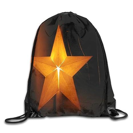 Amazon.com: HUVATT Bolsa de cordón 0Light Star Mochila de ...