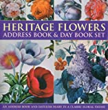 Heritage Flowers Address Book and Day Book Set, Lorenz, 075482098X