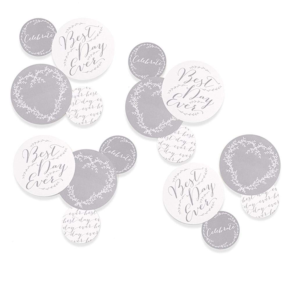 Hortense B. Hewitt Rustic Vines Wedding Table Decorations Confetti - 32 Assorted Pieces - 4 Sets