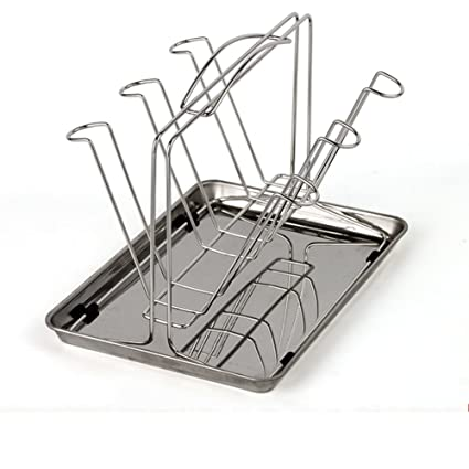 Amazon.com - MAOMAOXIAO Cup Holder with Pallet Storage Drain Rack ...