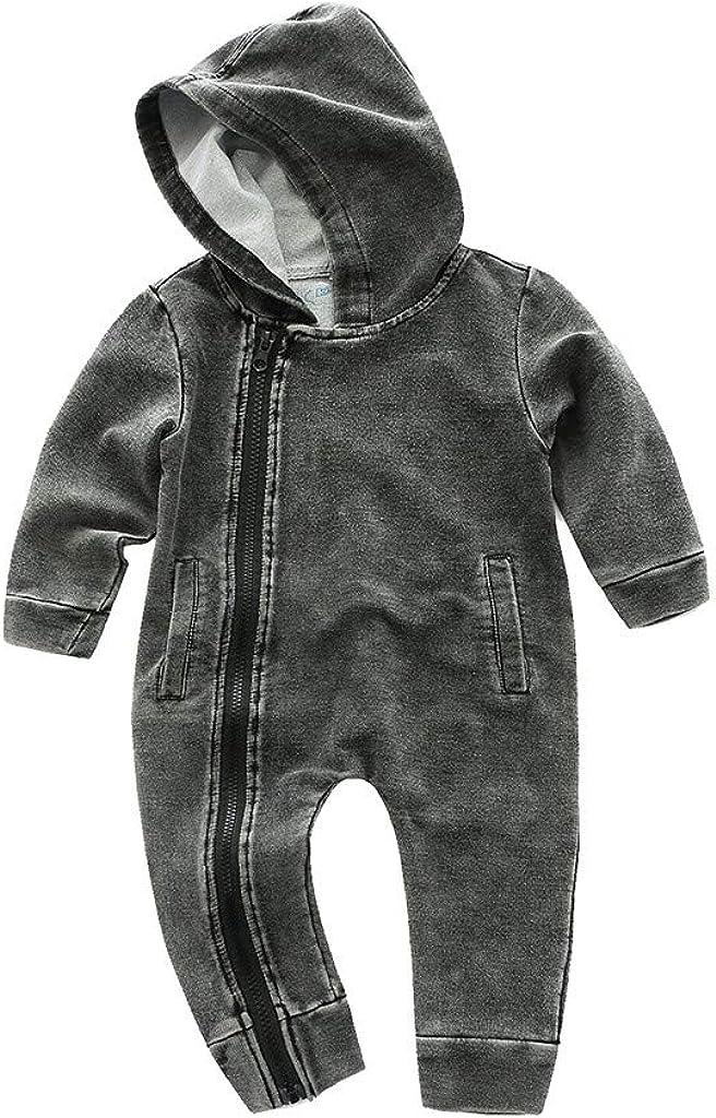 Baby Sommer Strampler Neugeborenen Jungen M/ädchen Overall Cartoon S/äuglingskleidung 0-24M