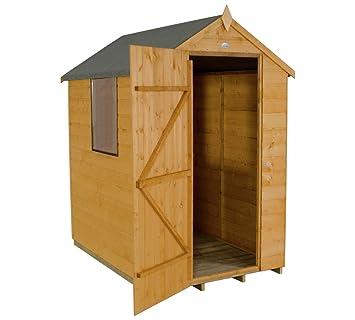 Caseta de cobertizo (madera, bosque – 4 x 6 ft
