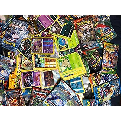 Pokemon Limited Edition TCG: Random Cards from Every Series, 100 Cards in Each Lot: Toys & Games