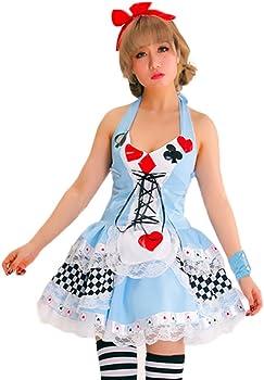 Nuevo Mujer De Lujo Alice in Wonderland Disney Disfraz Disfraz ...