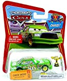 Disney / Pixar CARS Movie 1:55 Die Cast Car Chick Hicks with Piston Cup Trophy Chase Piece!