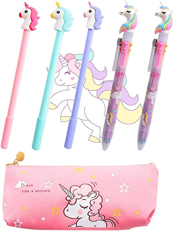 Cute Flamingo Mini Note Book Small Jurnal With Ball Point Pen Set 2 Sets of Stationery For School Office Kid Birthday Gift