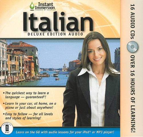 Instant Immersion Italian Audio Deluxe V2 0  Italian And English Edition