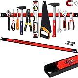 Deuba® Magnetleiste 60cm ✔23kg Tragkraft ✔Modellauswahl ✔Montagematerial Werkzeugleiste Messerleiste mit Modellauswahl Magnetleisten