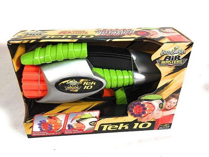 Buzz Bee tek 10 Lanzador De Dardos: Amazon.es: Juguetes y juegos