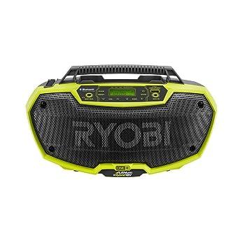 Ryobi P746 FM Jobsite Radio