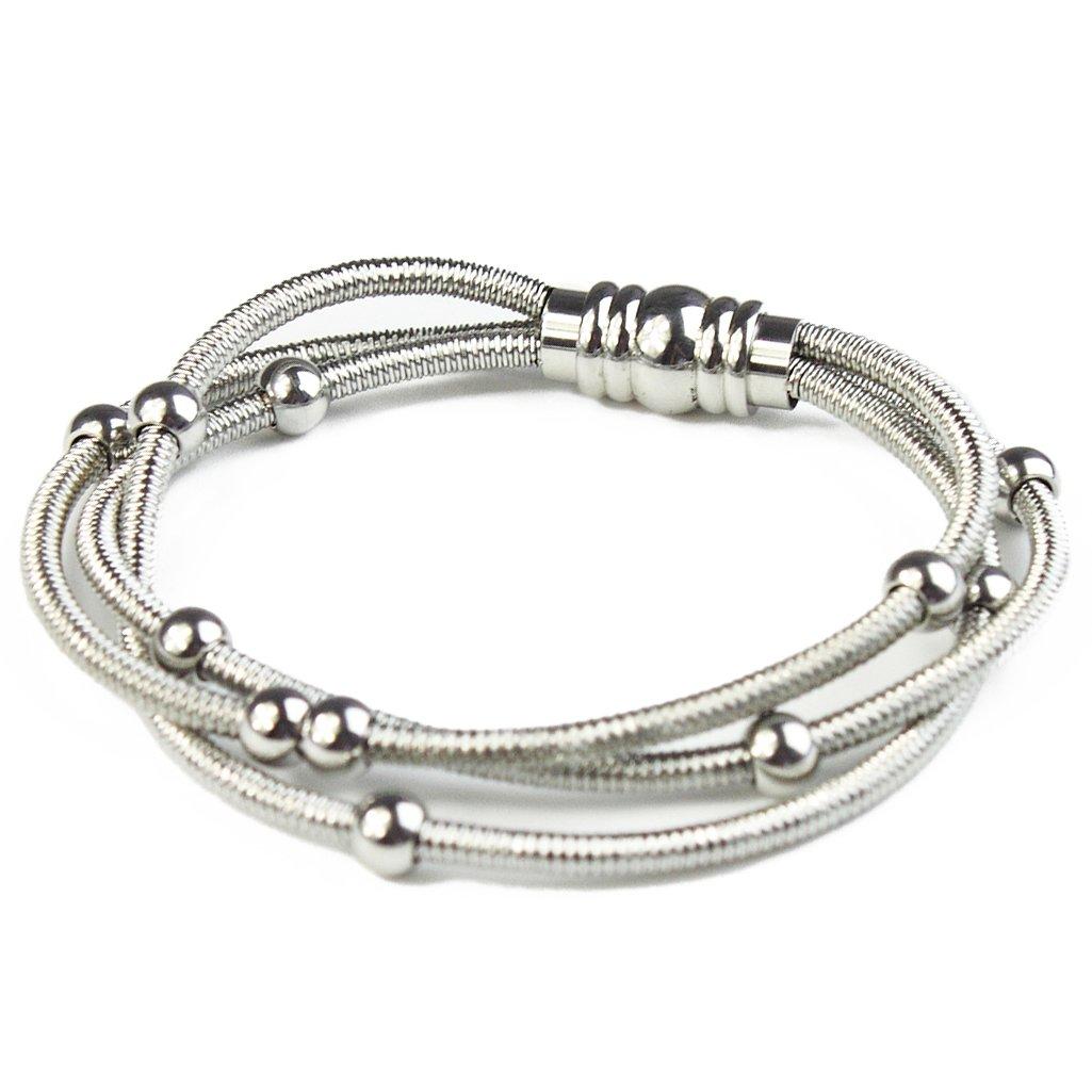 BAYUEBA Stainless Steel Bracelet for Women Men Girls