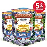 Keto Pancake & Waffle Mix by Birch Benders, Low-Carb, High Protein, Grain-free, Gluten-free, Low Glycemic,...