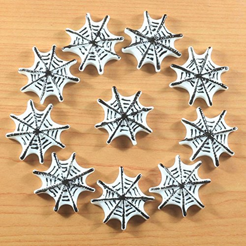 Lot 10pcs Spider Web for Halloween Party Resin