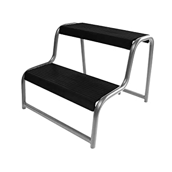 ProPlus Double Step Stool for Caravan/Motorhome Black 360822  sc 1 st  Amazon UK & ProPlus Double Step Stool for Caravan/Motorhome Black 360822 ... islam-shia.org