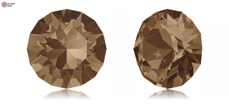 SS34 (7.069  7.272 mm) Swarovski Crystals 1164737 Round Stones 1088 SS 34 LIGHT SMOKED TOPAZ F, 144 Pieces