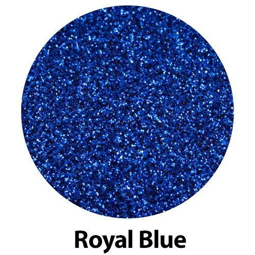 GERCUTTER Store - 20 x 12 Siser GLITTER Heat Transfer Vinyl Sheets (20 x 12 x 1 Sheet) (Royal Blue)