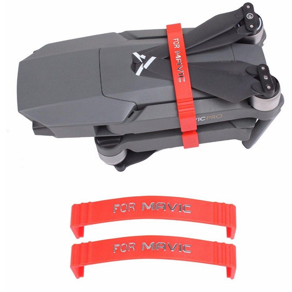 2pcs Propeller Stabilizer for DJI Mavic Pro , Red Fixing Parts Fixators Holder for DJI Mavic Pro Drone --- Red H-shopping