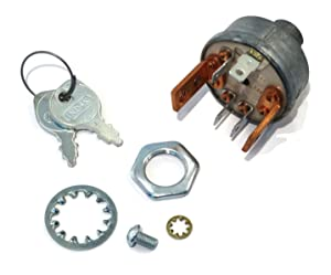 The ROP Shop New Ignition/Starter Key Switch for Sears Roper AYP Suburban STD-365401R