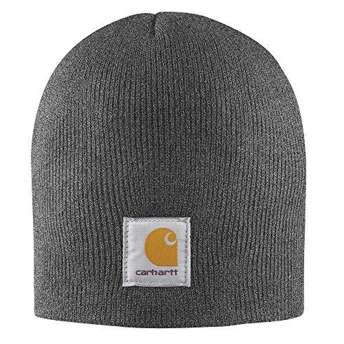 Carhartt Winter Knit Hat (Carhartt Men's Acrylic Knit Hat, Coal Heather, One Size)
