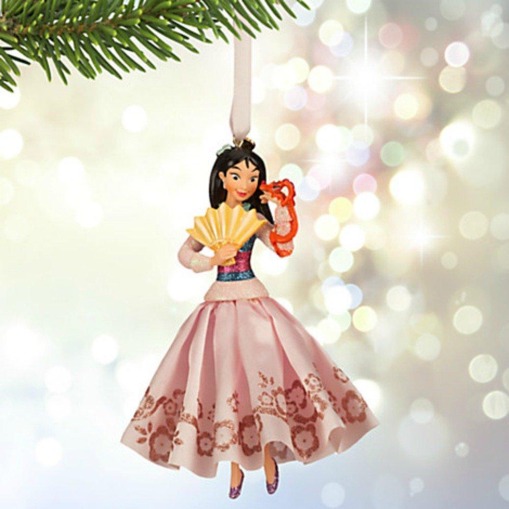 Amazon.com: Disney Mulan Sketchbook Christmas Holiday Ornament: Home ...