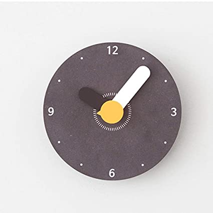 Indoor Non-Ticking Silent Cute Wall Clock Quiet Sweep Movement Office Decor Wall Decor (