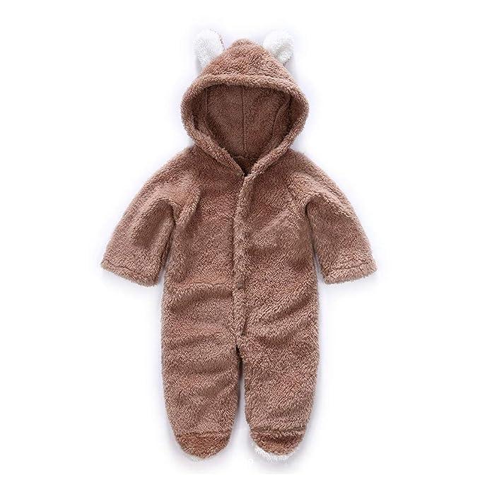 Amazon.com: Digirlsor - Mono unisex para bebé, diseño de oso ...
