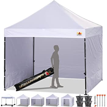 Amazon Com Quictent 8x8 Ft Easy Pop Up Canopy With