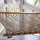 Original Pawleys Island 15DCAB Presidential Duracord Rope Hammock, Antique Brown