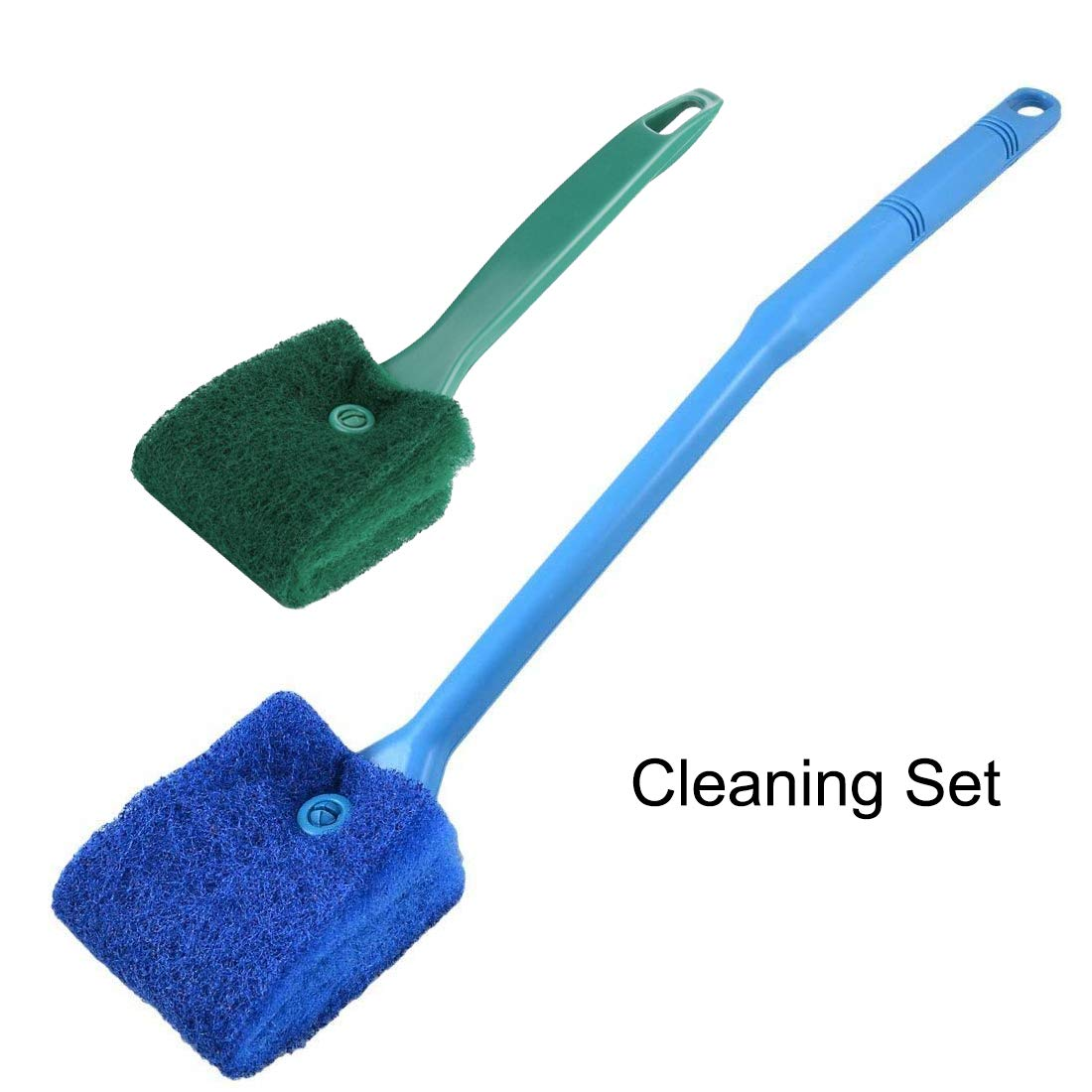 ONST Double Sided Sponge Aquarium Cleaning Brush Cleaner Algae Scrapers