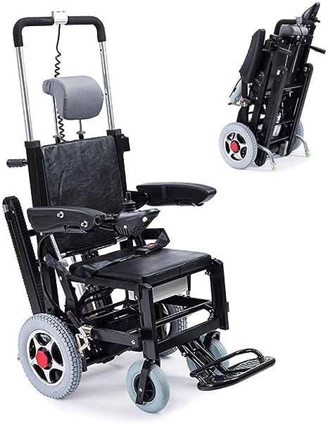 A&DW Escalera eléctrica Plegable Escalera para sillas de Ruedas, Tipo de Oruga Batería de Litio El Terreno Plano Puede ser eléctrico Caminar, Puede Subir y Bajar escaleras: Amazon.es: Deportes y aire libre