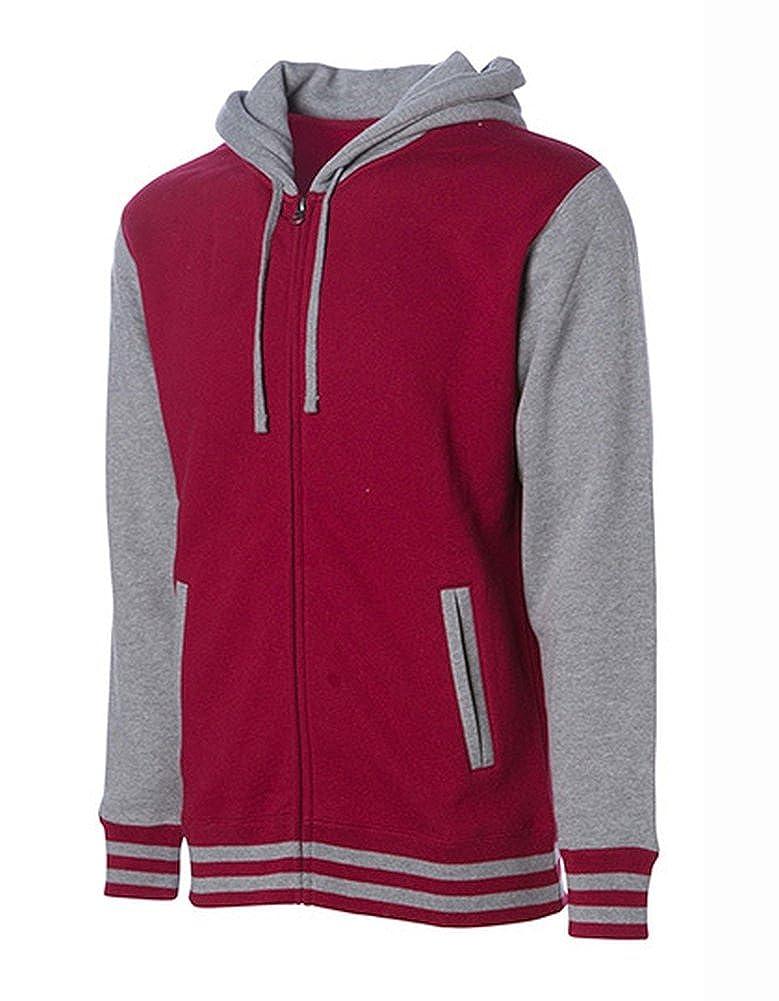 Unisex Heavyweight Varsity Zip Hood Jacke Jacke Jacke Herrenjacke B071LBGMVY Jacken Förderung fa4352