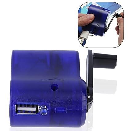 Nuevo cargador de teléfono de emergencia USB de viaje Dynamo ...