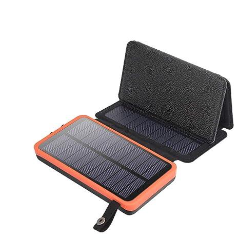 GYFHMY Cargador Solar Plegable 10000 mAh teléfono móvil ...