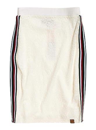 Superdry Blake White Jupe FemmeVêtements Et Lace UqSMpGLzV