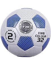 كرة قدم مقاومة للمياه، مقاس 2 - متعددة الالوان