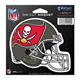 Tampa Bay Buccaneers Official NFL 4.5 inch x 6 inch Car Magnet by Wincraft