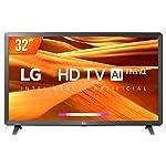 "Smart TV LED 32"" LG, 3 HDMI, 2 USB, Bluetooth, Wi-Fi, Active HDR, ThinQ AI - 32LM621CBSB.AWZ"