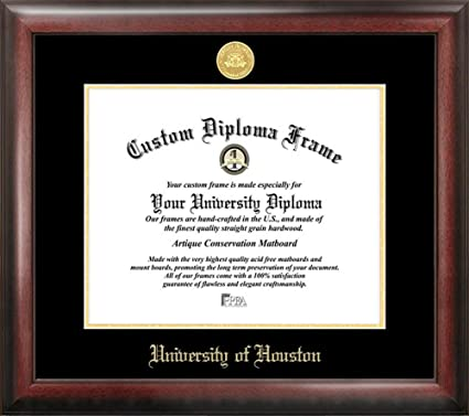 Amazon University Of Houston Home Office Diploma Picture Frame