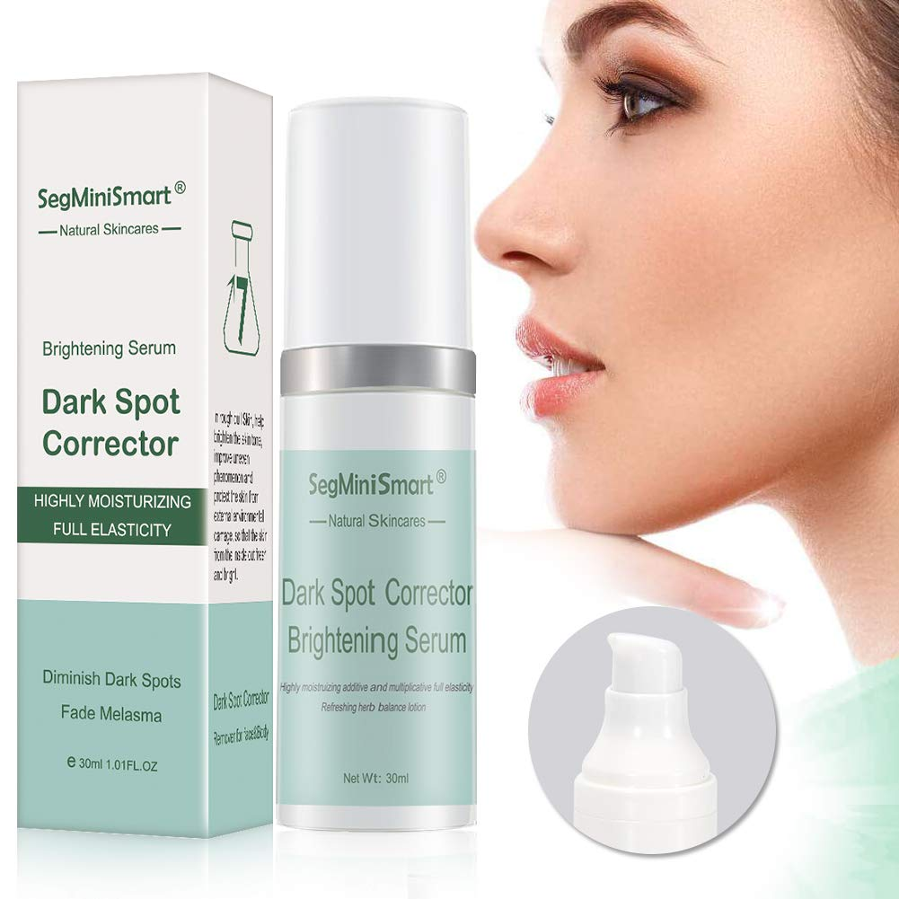 Dark Spot Corrector, Lightening Serum, Skin Brightening Serum, Dark Spot Remover, Freckle Serum for Face and Body, Melasma Treatment, Anti Aging Serum, Improve Lighten Brighten Dark Spot