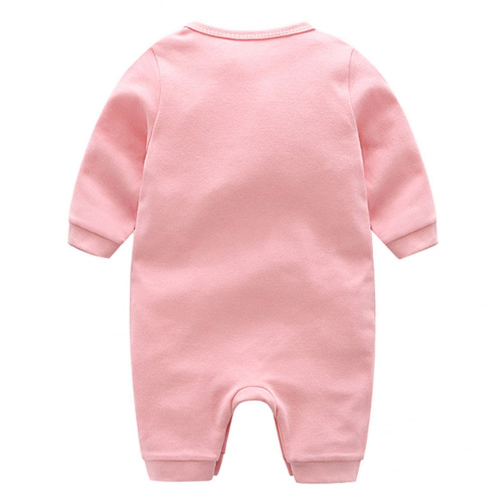 Elsa Wilcox Baby Boy Girl Long Sleeve Romper Bodysuit Infant I Love Papa Mama Jumpsuit Outfit