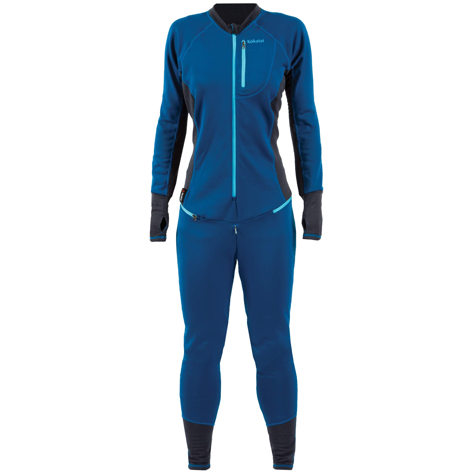 Kokatat Women's Polartec Power Dry Outercore Habenero Liner-Ocean-L by Kokatat
