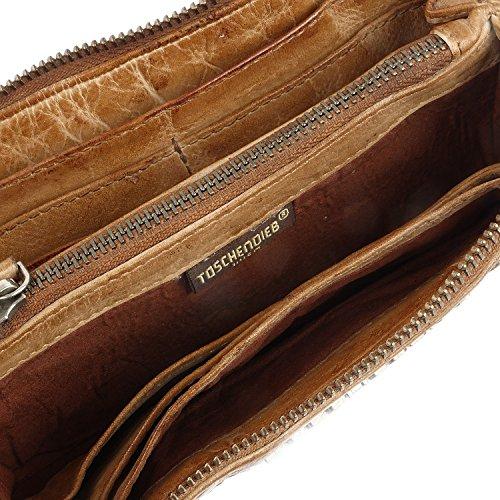 Taschendieb Wien Tasche - Cow Woven - L Wallet - Cognac