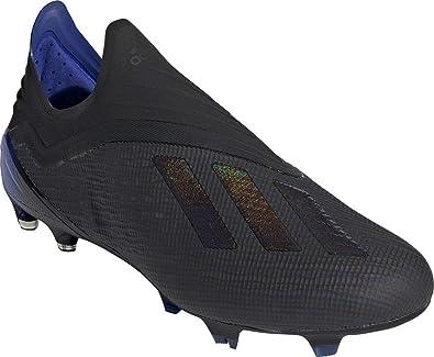adidas X 18+ FG Chaussures de Football Homme Noir, 48 23