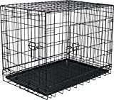 Large Folding Steel Pet Travel Kennel and Training Cage 29.5″ x 20″ x 24″ For Sale