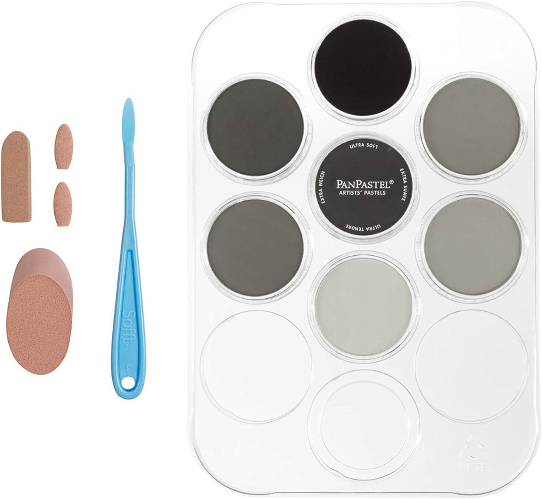 PanPastel Ultra Soft Artist Pastel escala de grises c/kit